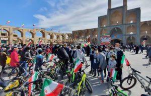 همایش دوچرخه سواری- ویژه جشن انقلاب