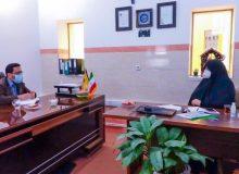 جلسه مسئول پژوهش و برنامه ریزی با عوامل مدارس دخترانه