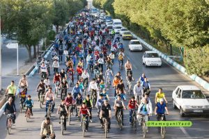 دومین دورهمی دانش آموزان دوچرخه سوار